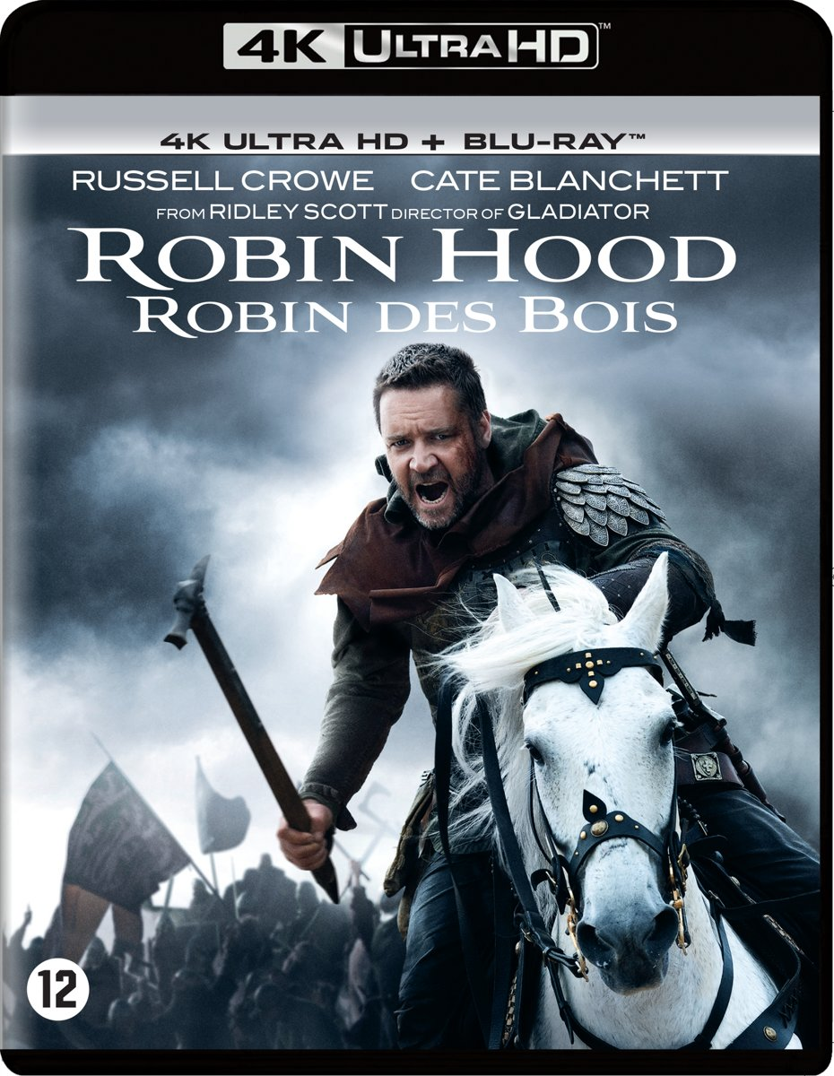 Robin Hood (2010) (4K Ultra Hd Blu-ray)-