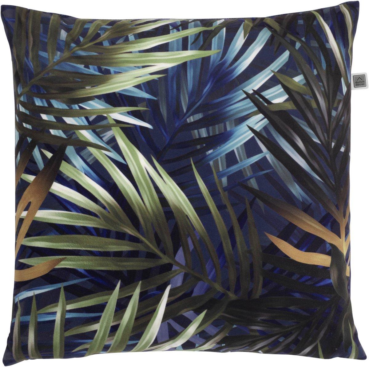 Dutch Decor Sierkussen Floris 70x70 cm blauw multi kopen