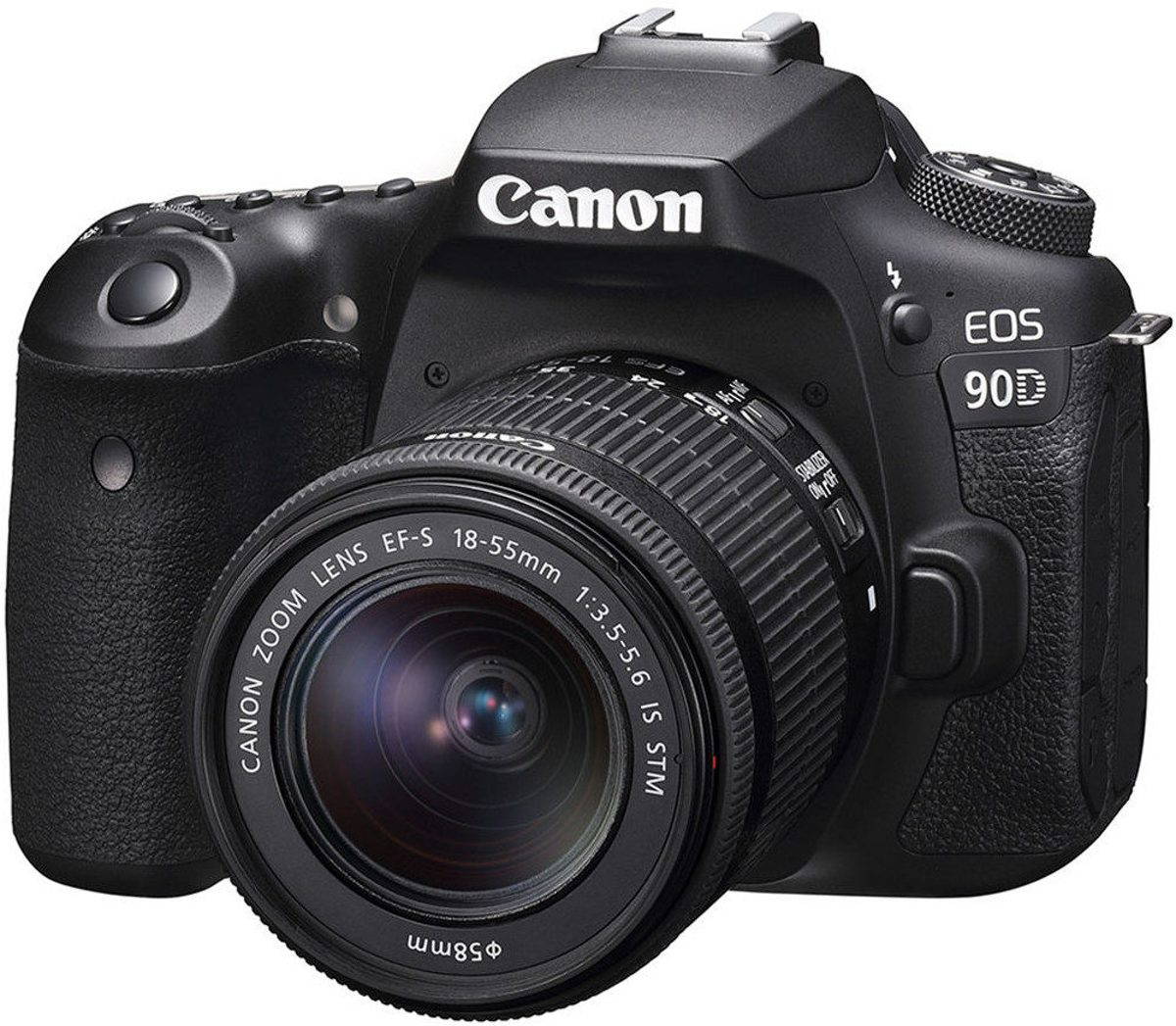 Canon EOS 90D + EF-S 18-55 IS STM - Zwart