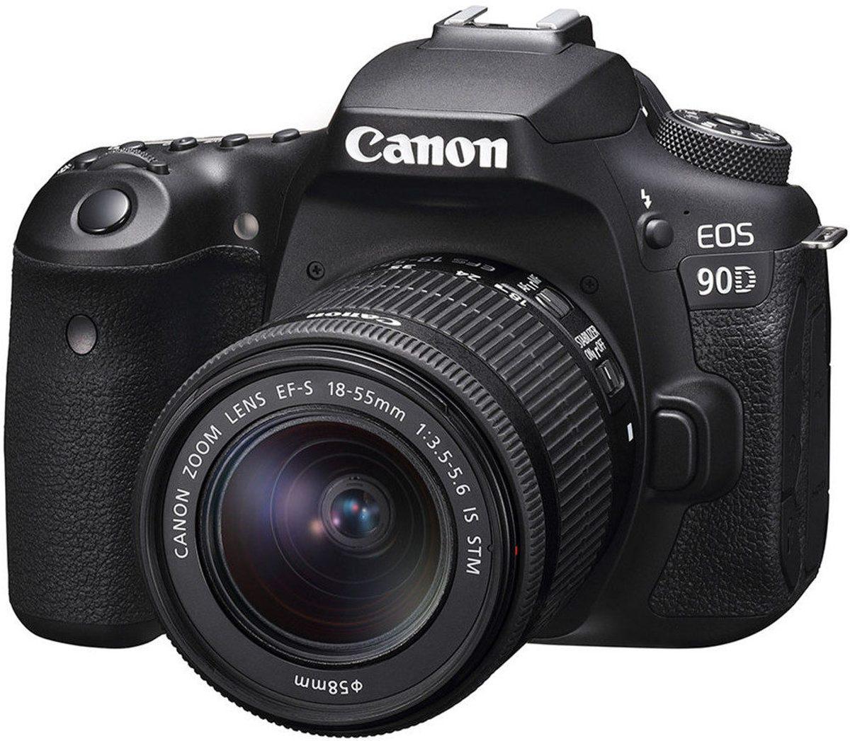 Canon EOS 90D + EF-S 18-55 IS STM - Zwart kopen