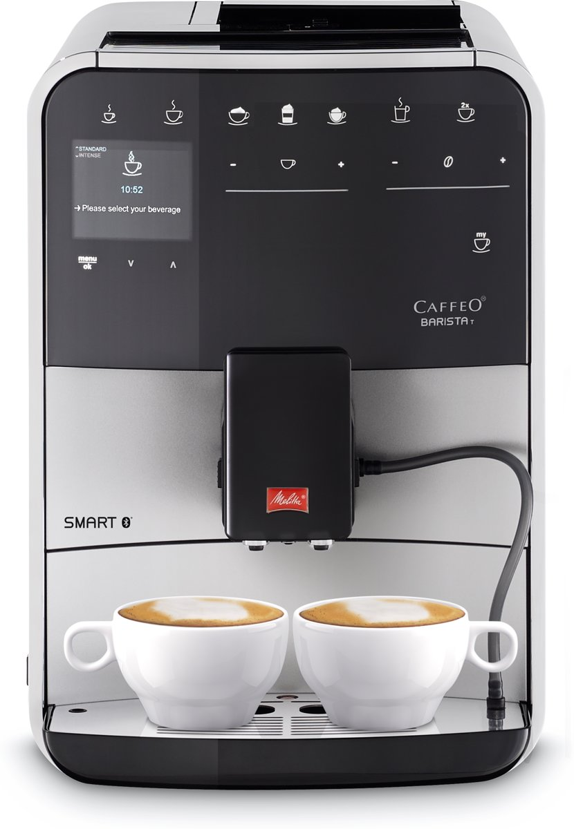 Melitta Barista T Smart - Espressomachine - Zilver kopen
