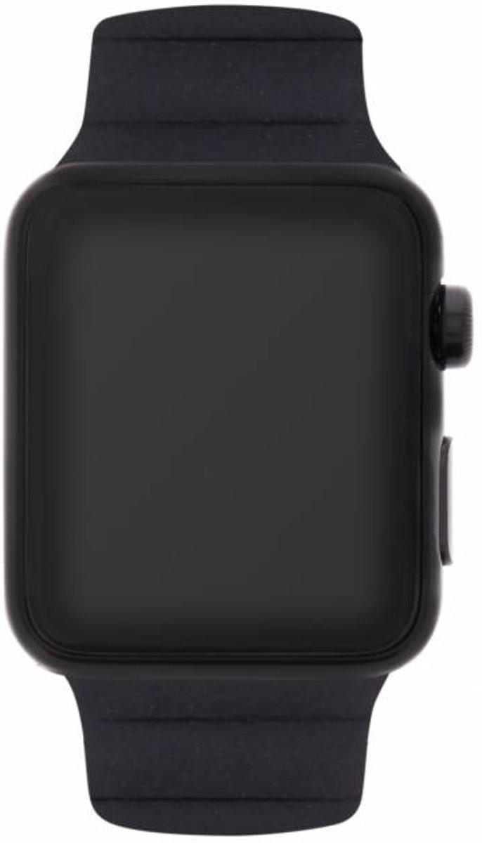 Zwart Loop design watch band voor de Apple Watch 44 mm / 42 mm kopen