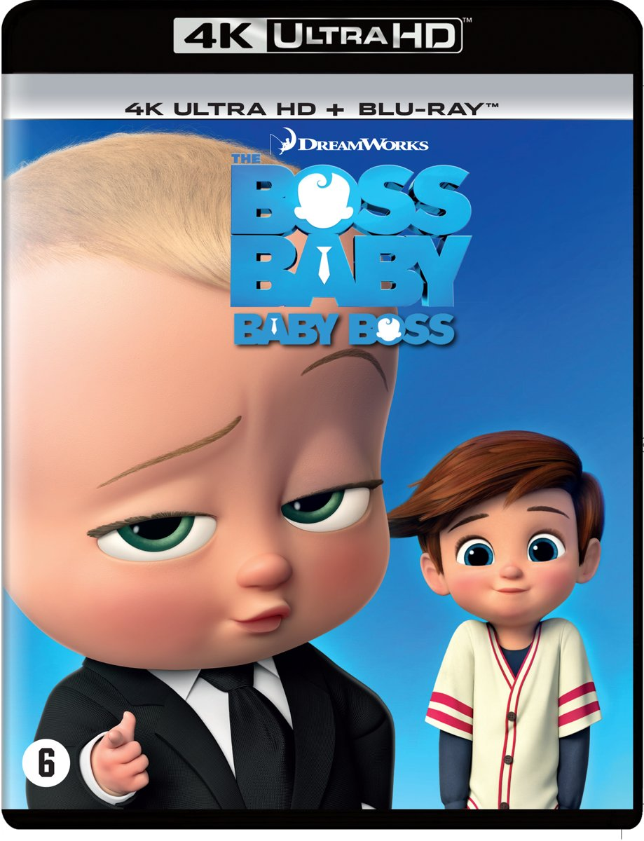 The Boss Baby (4K Ultra HD Blu-ray)-
