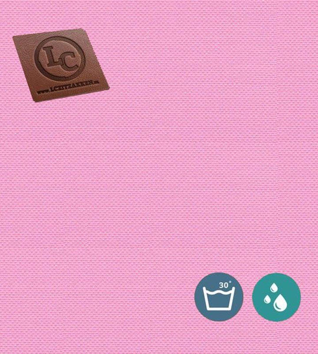 LC Zitzak hoes Ibiza M outdoor roze - Wasbaar - Geschikt voor buiten kopen