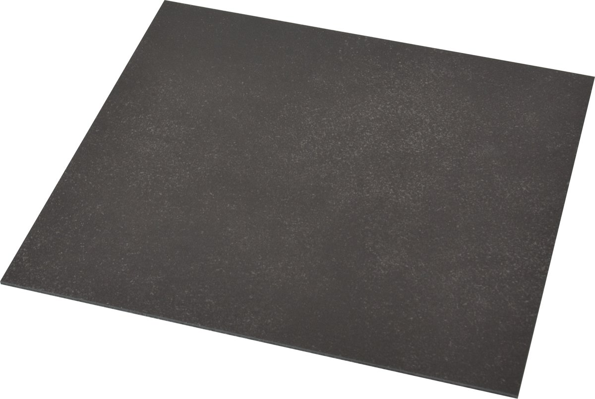 Bol.com flexxfloors vinyl vloer portugese tegel uni zwart
