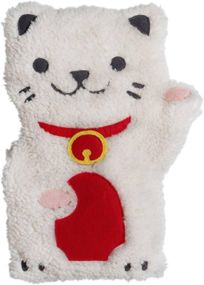 Bitten Warmteknuffel Kussen Kat gevuld met lavendel tarwe Magnetron -Warmtekussen kopen