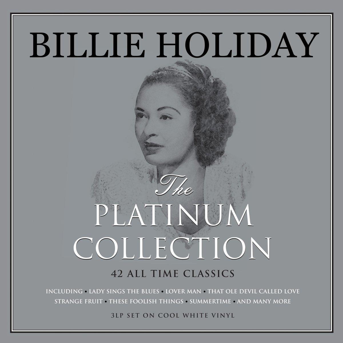 Billie Holiday - PLATINUM COLOURED   Vinyl kopen