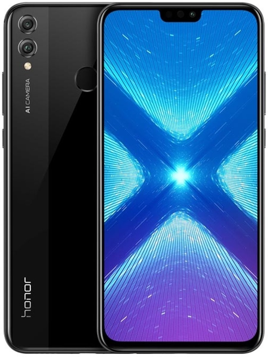 Huawei Honor 8X 4G 128GB Dual-SIM black EU kopen