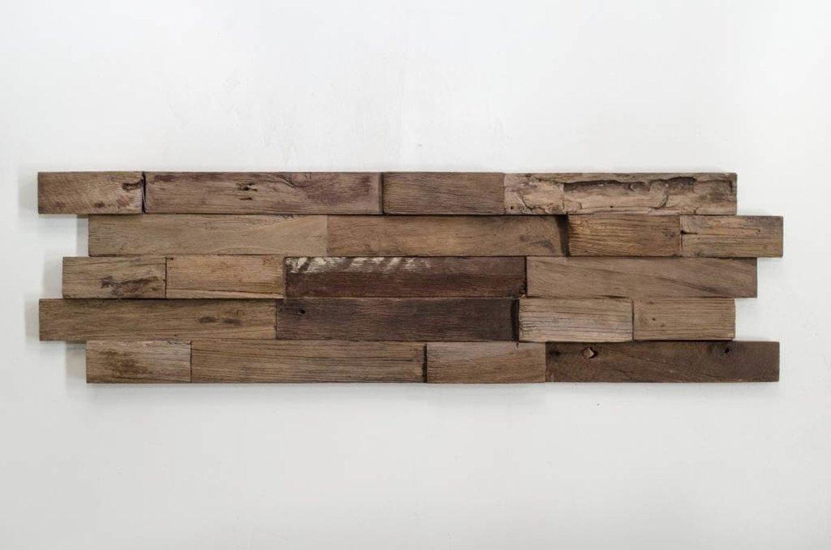 Plakhout - Houtstrip 3D Woodpanel Lock Charred Geen FSC! kopen