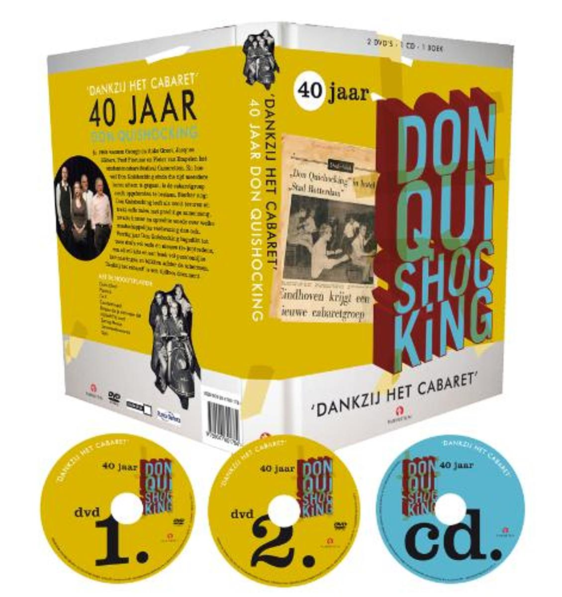 40 jaar don quishocking bol.| 40 Jaar Don Quishocking (Dvd) | Dvd's 40 jaar don quishocking