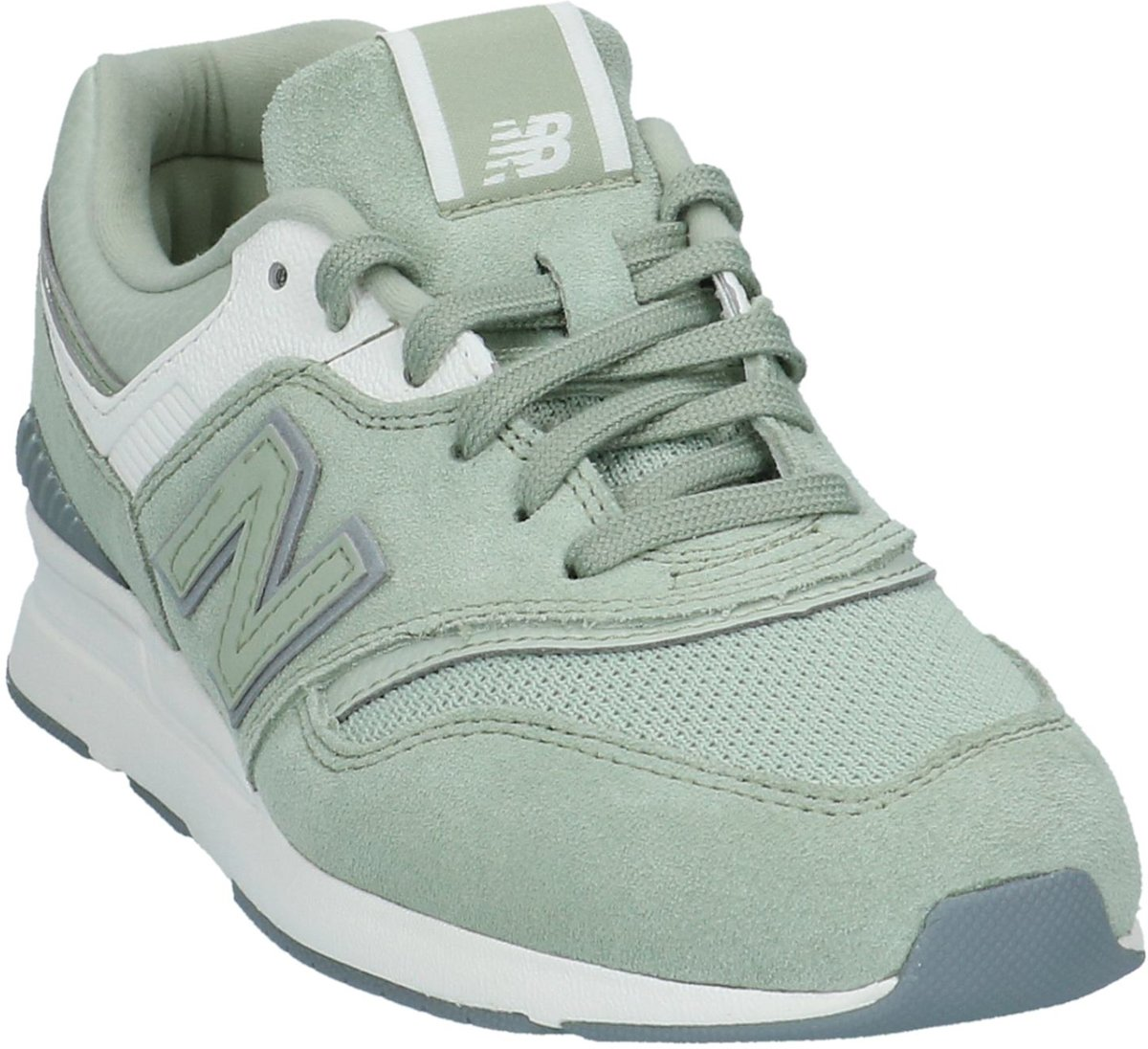 groene new balance sneakers wl697