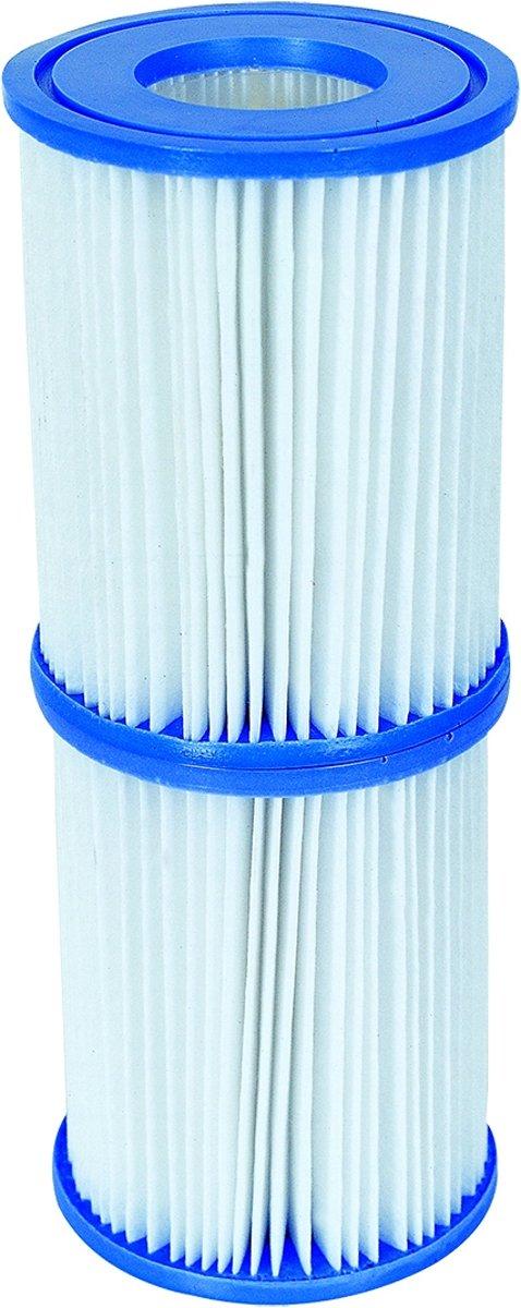 Bestway - 2 stuks filtercartridges - zwembadfilter Type II - nr. 58094
