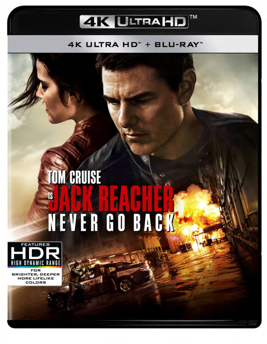 Jack Reacher 2: Never Go Back (4K Ultra HD Blu-ray)-