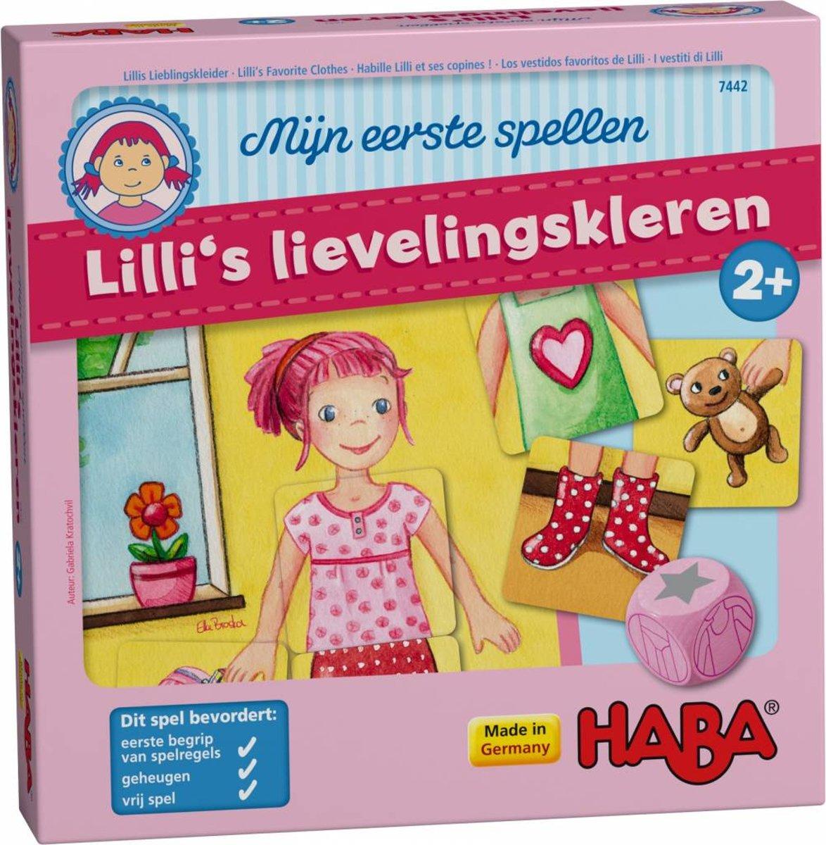 Haba Spel Peuterspeelgoed Lilli's lievelingskleding