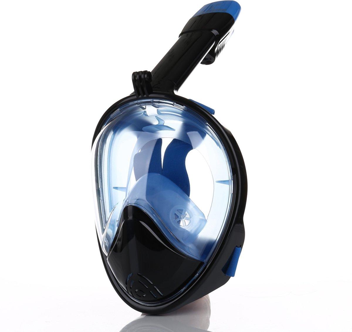 61052effd7f429 bol.com   Atlantis 2.0 Full Face Mask - Snorkelmasker - L/XL - Zwart/Blauw
