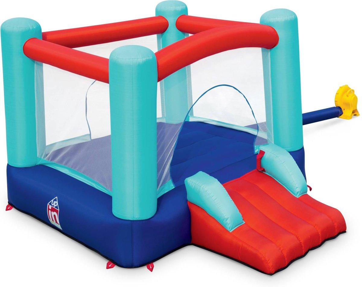 Opblaasbaar springkasteel - Chambord - springkasteel, springkussen voor kinderen, 2,5 x 2,1 x 1,5 m