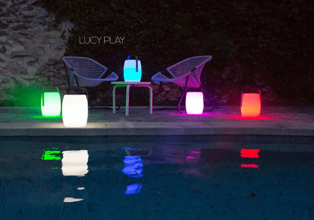 Lumisky LUCY PLAY Muzikale LED verlichting handlamp op batterij met bluetooth aansluiting