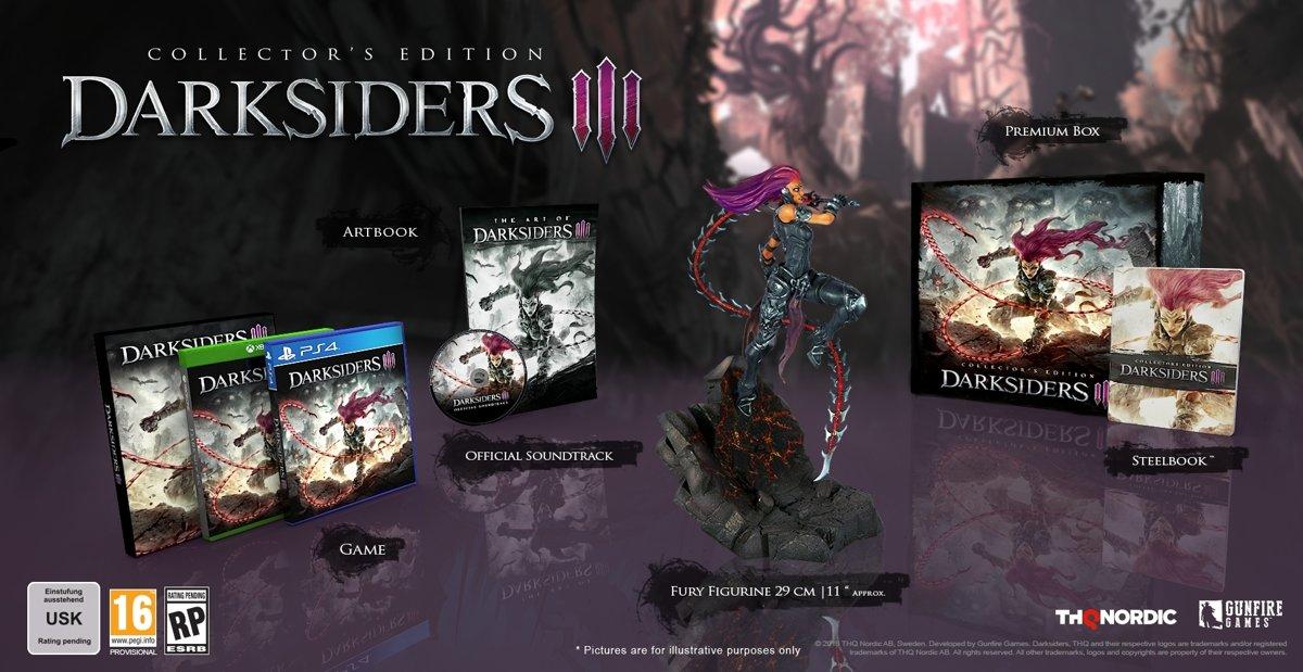 Darksiders III - Collector's Edition PlayStation 4