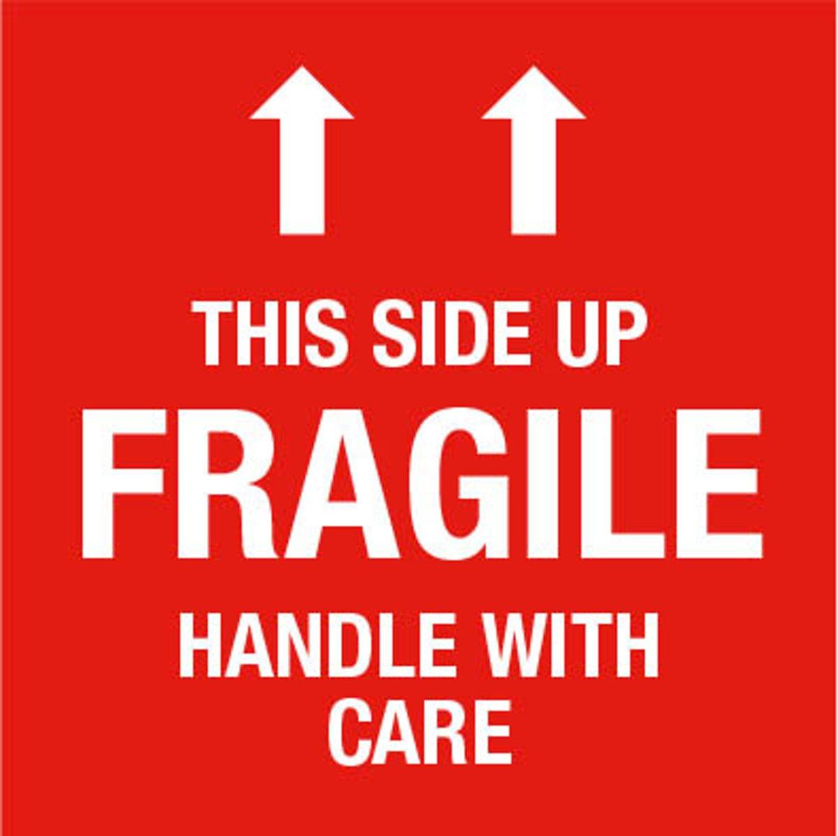 Bol com verhuis stickers breekbaar fragile 25 stuks