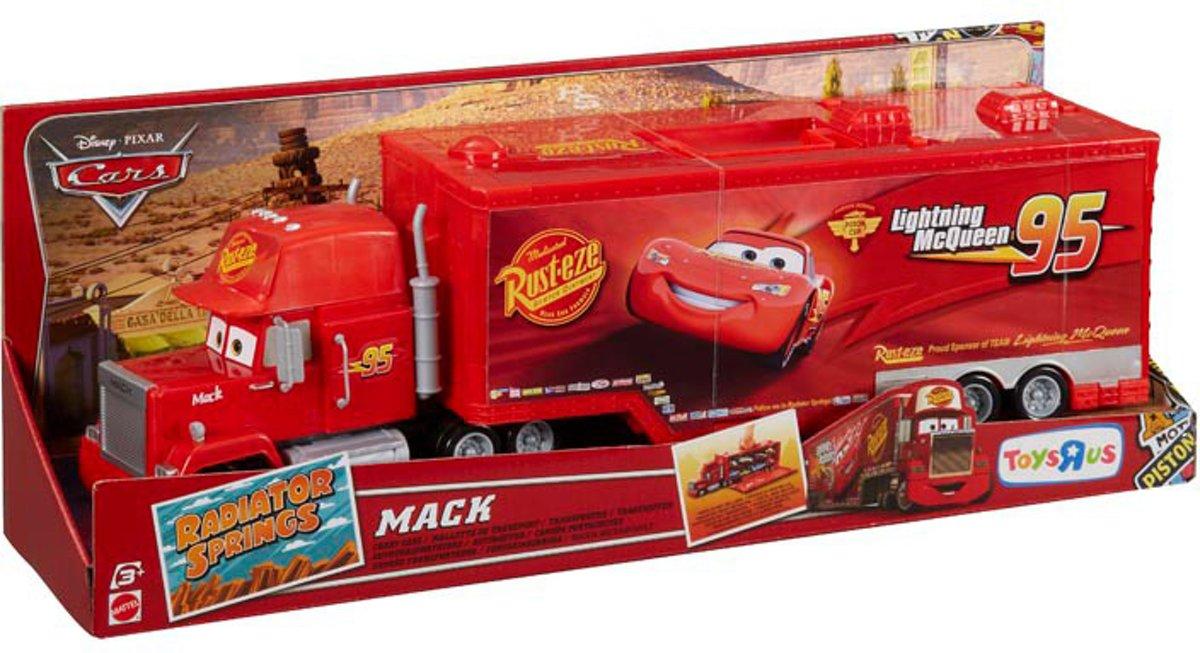 Bol Com Disney Cars Mack Speelkoffer Speelgoedvoertuig Mattel