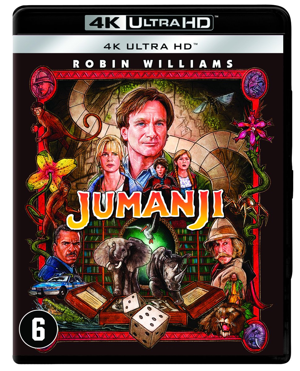Jumanji (1995) (4K Ultra HD Blu-ray)-