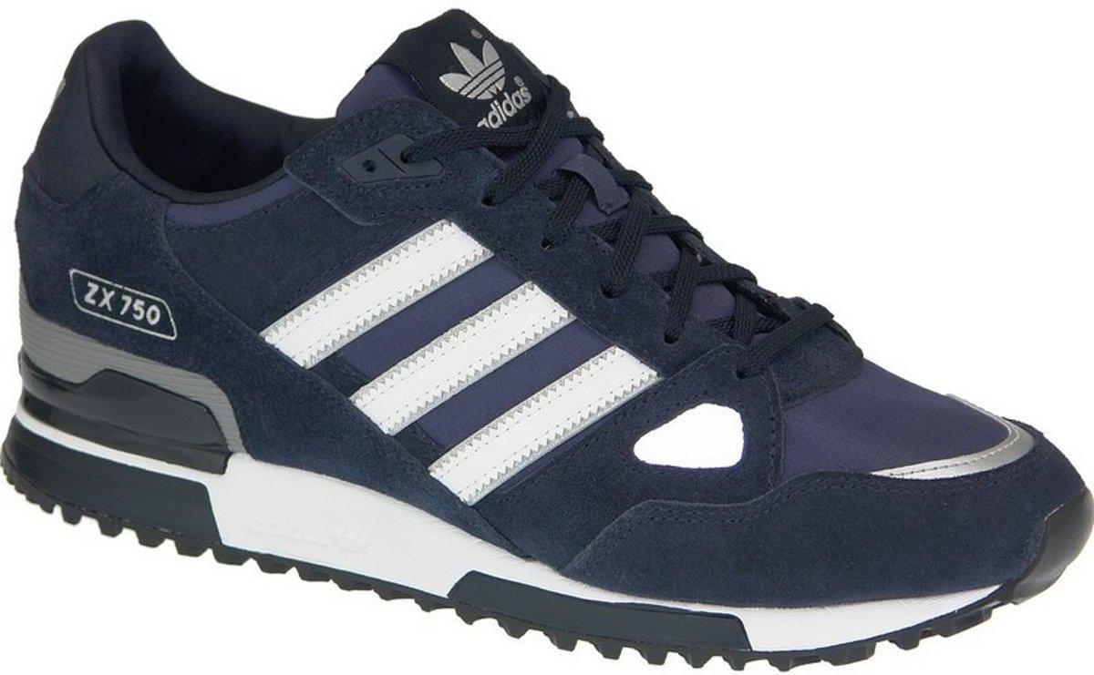 adidas ZX 750 G40159, Mannen, Blauw, Sneakers maat: 43 13 EU