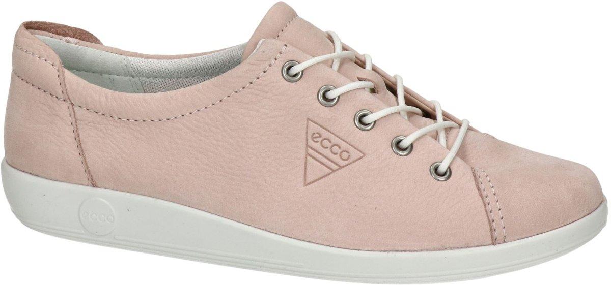 Ecco Soft 2.0 dames sneaker Rose Maat 37