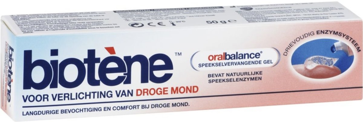 Foto van Biotene Oralbalance Gel - 50 gr - Mondgel