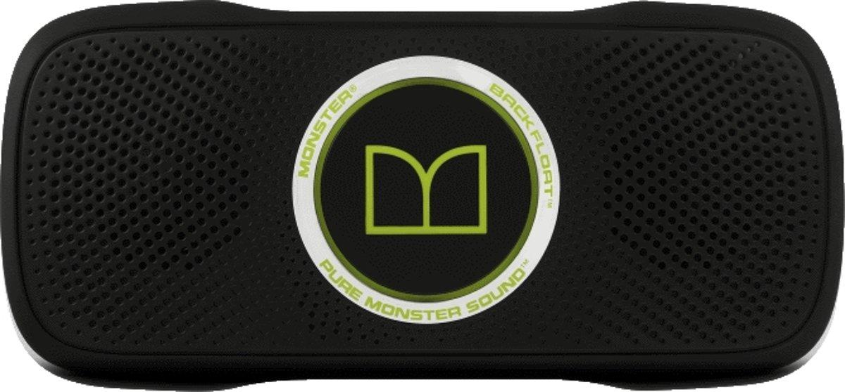Monster BackFloat Drijvende Bluetooth Speaker - Zwart / Groen kopen