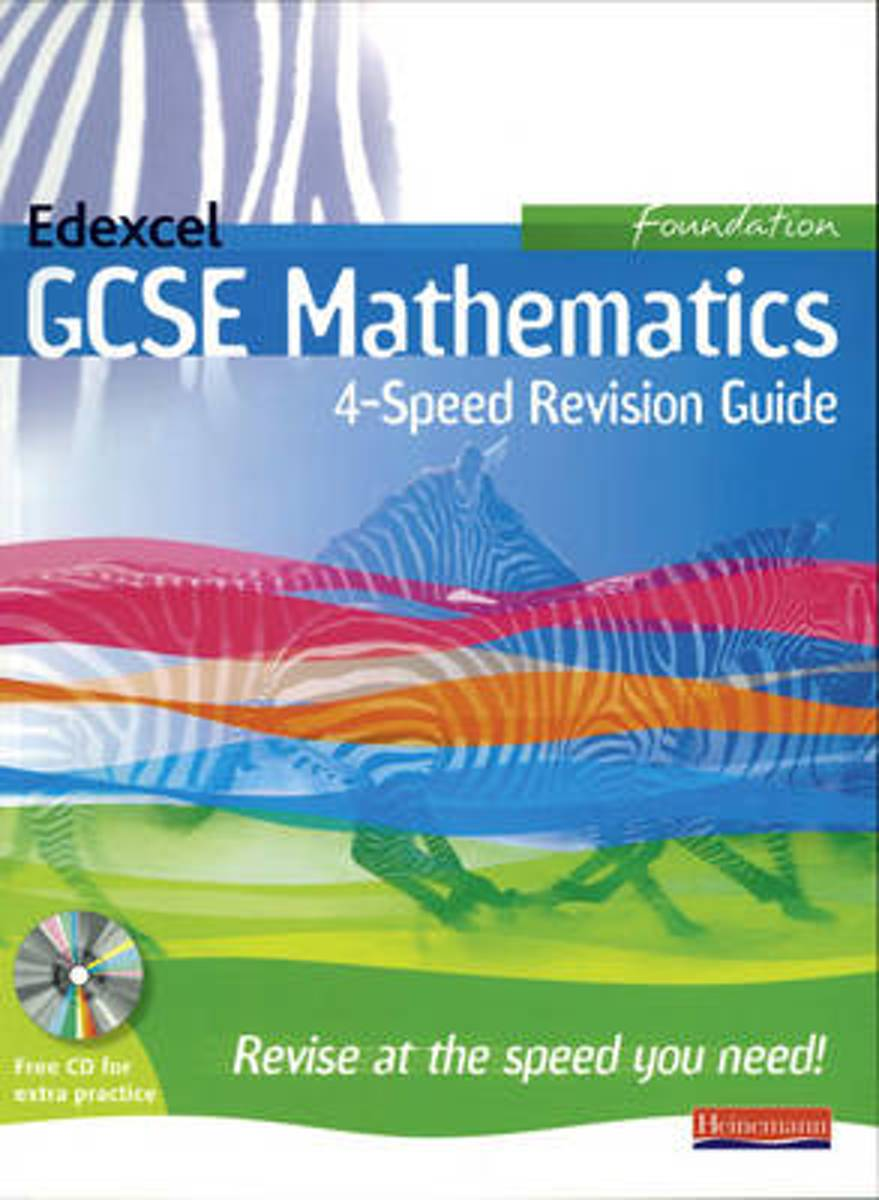 Afbeelding van product 4 Speed Revision for Edexcel GCSE Maths Linear Foundation  - Keith Pledger