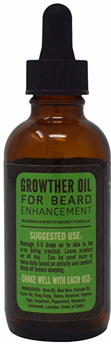 Beard Farmer Growther Growth Oil Grow Your Fast All Natural