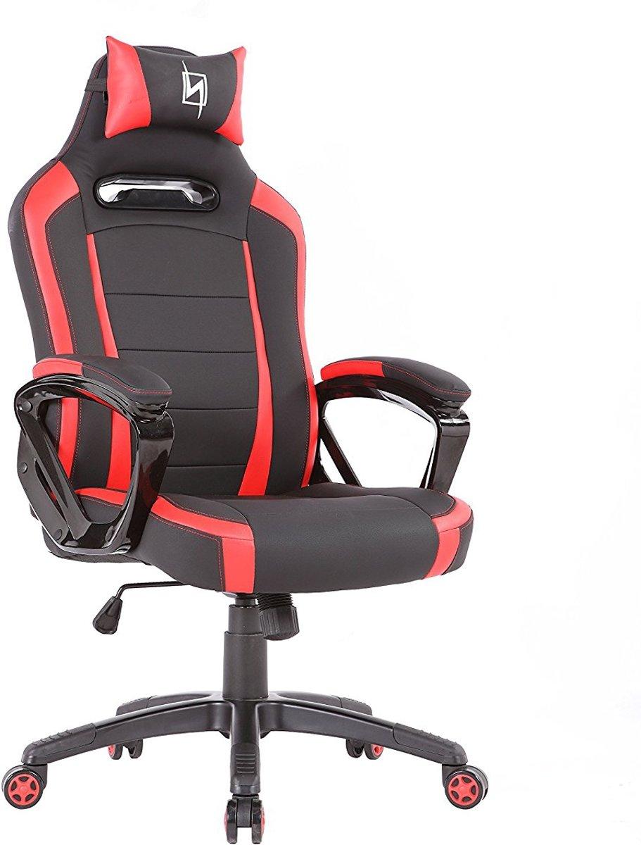 N. Seat Pro 300 Gaming Race / bureaustoel - Rood/Zwart