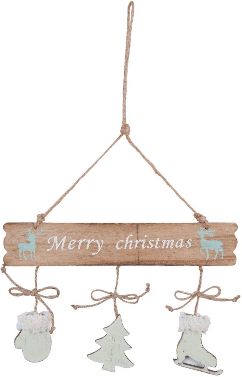 Clayre & Eef Hanger Christmas 24x35cm kopen