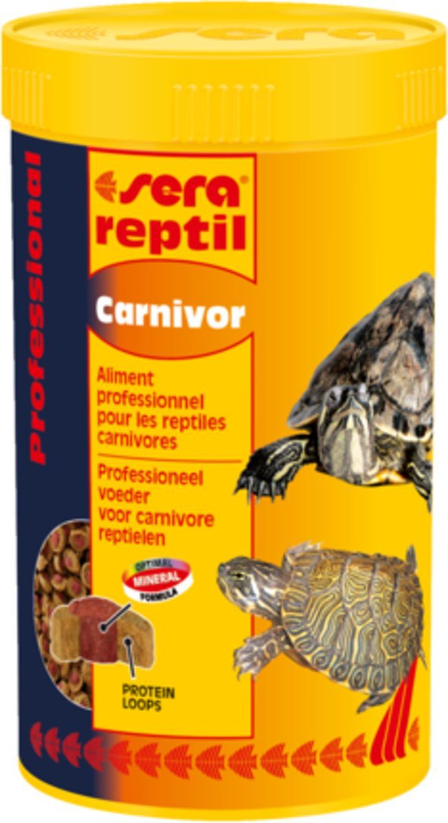 Sera reptil Professional Carnivor - 80g - Reptielenvoer