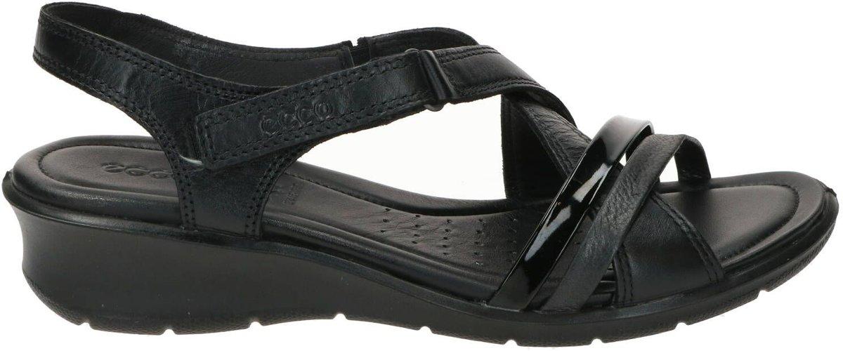 ECCO Felicia Sandal Dames Sandaal Zwart Maat 39