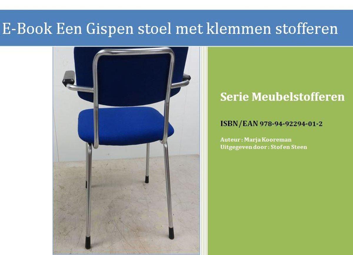 Stof Stoel Bekleden : Bol.com meubelstofferen een gispen stoel met klemmen stofferen