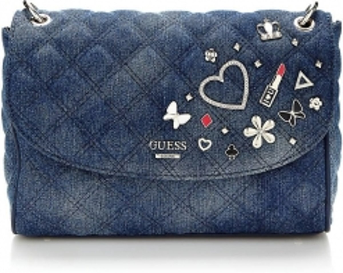 Guess Tas Darin Convertible XBody Flap Denim HWDJ6685210DEN