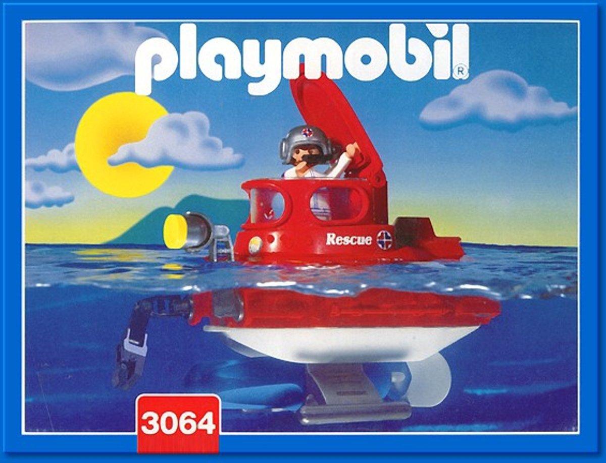 Playmobil Submarine - 3064