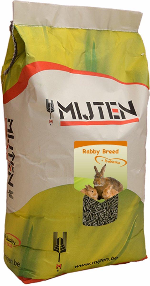 Mijten Rabby Breed Konijnenkorrel - 20 kg