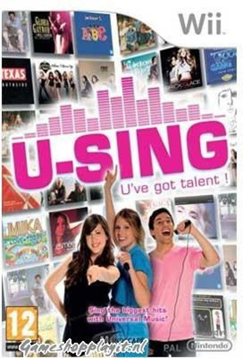 U-Sing Game Only WII kopen