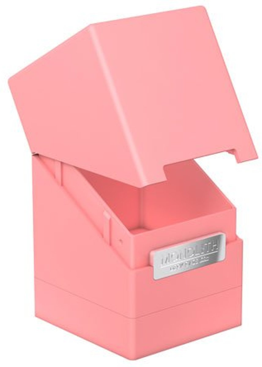 Ultimate Guard Monolith Deck Case 100+ Standard Size Pink
