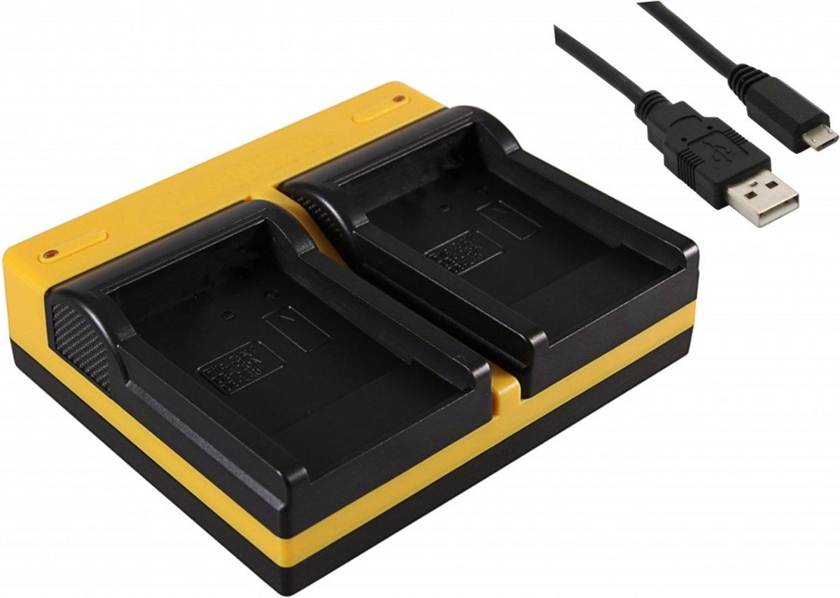 USB Dual Charger voor Panasonic DU07, DU14, DU21,DU06, DU12 Camera Accu / Compacte USB Accu Oplader kopen