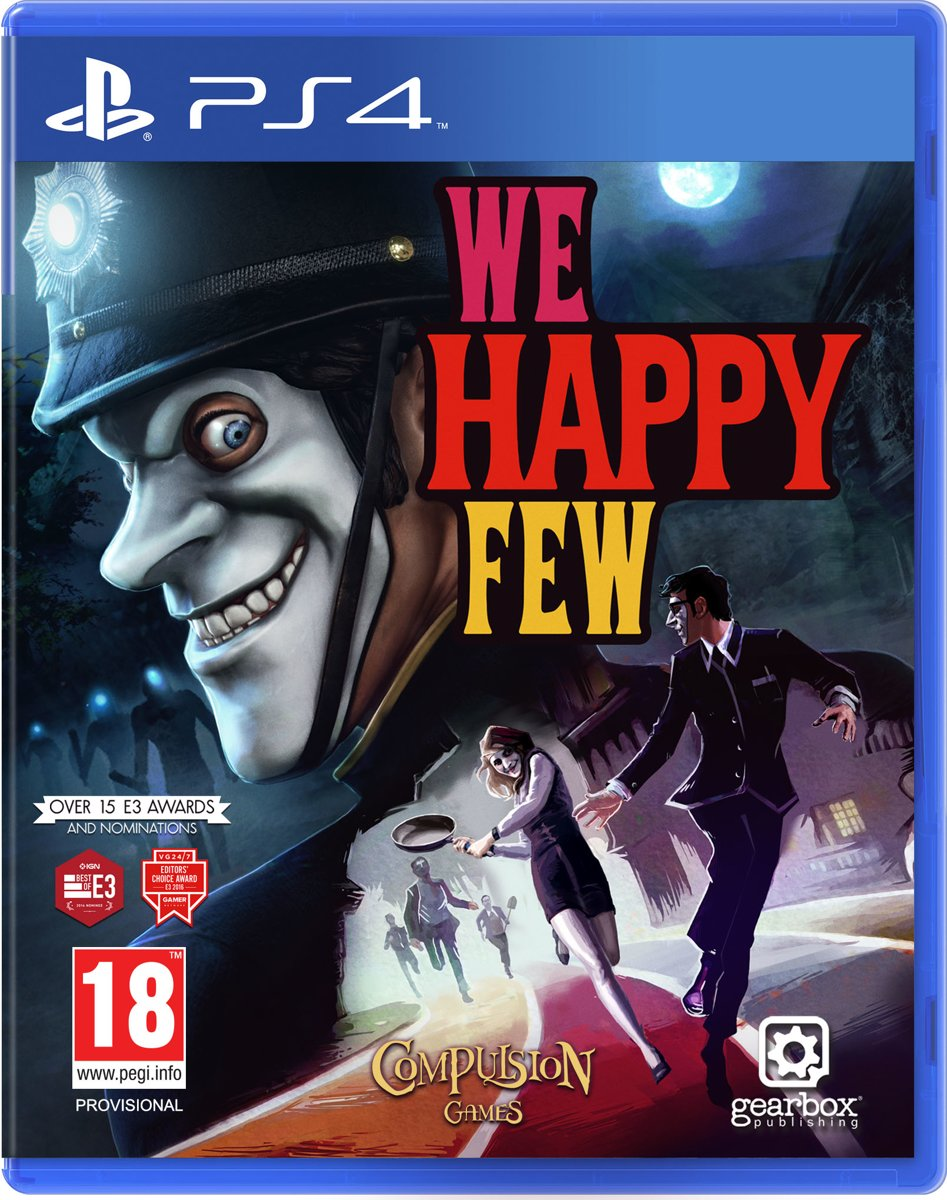 We happy Few PlayStation 4