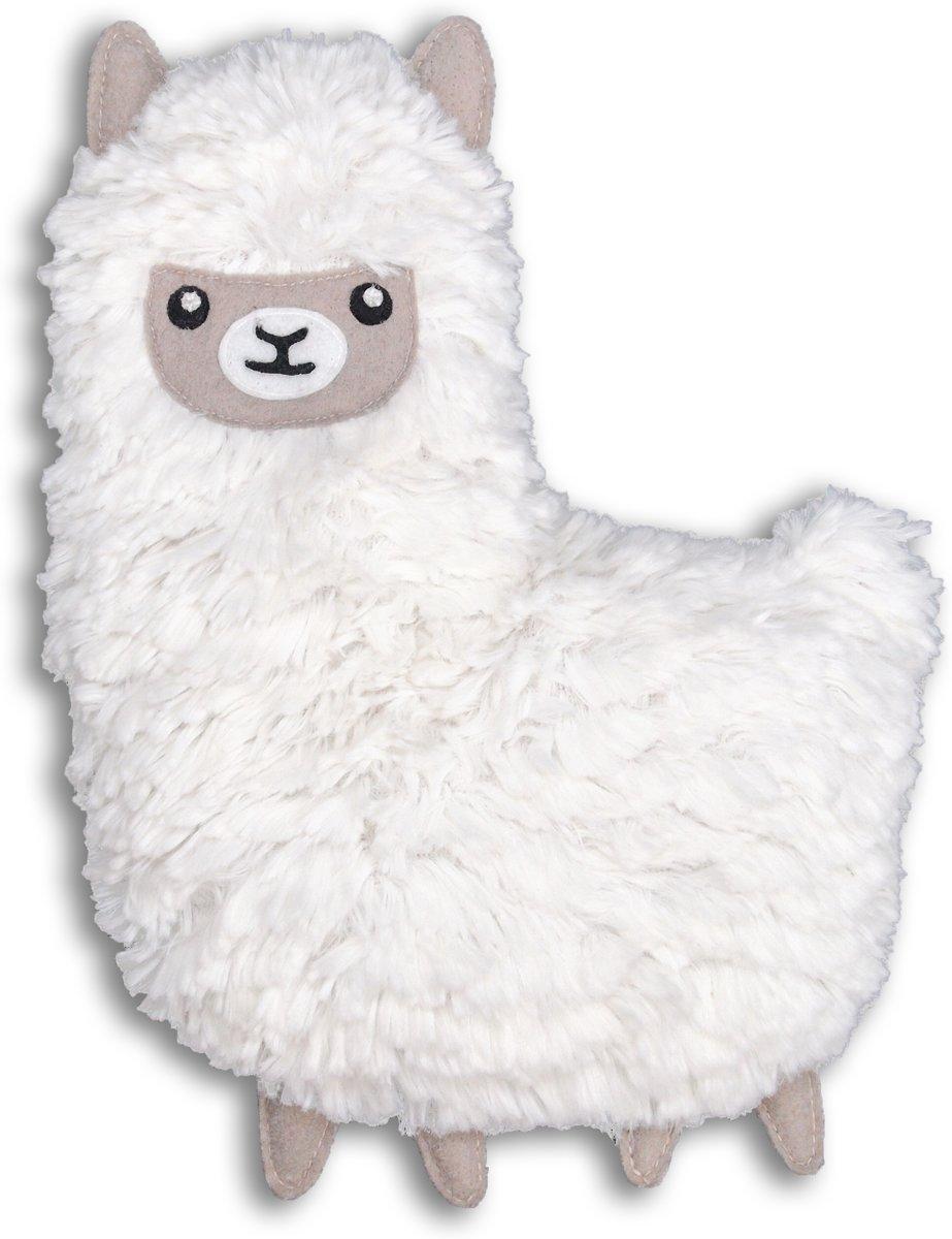 Bitten Warmteknuffel Kussen Lama gevuld met lavendel tarwe Magnetron – Warmtekussen kopen