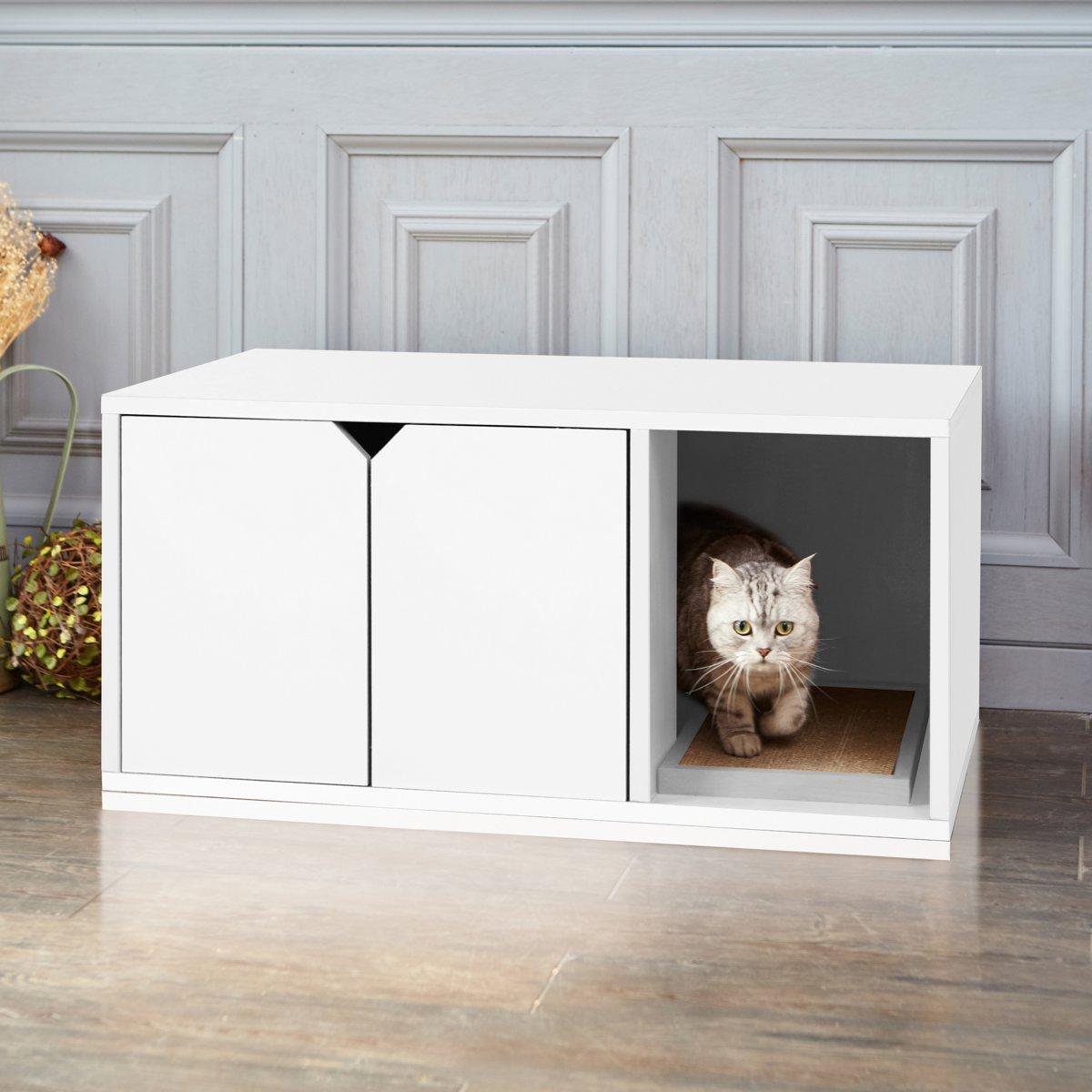 Way Basics Duurzame Kattenbak Wit