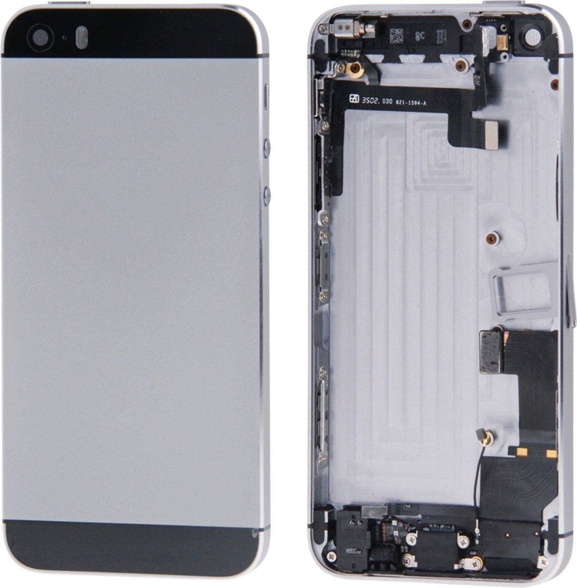 Volledige vergadering huisvesting Cover voor iPhone 5S (licht goud) kopen