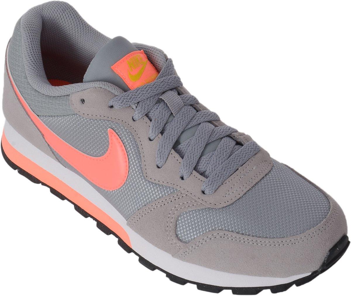 Nike Schoenen Dames Grijs Roze