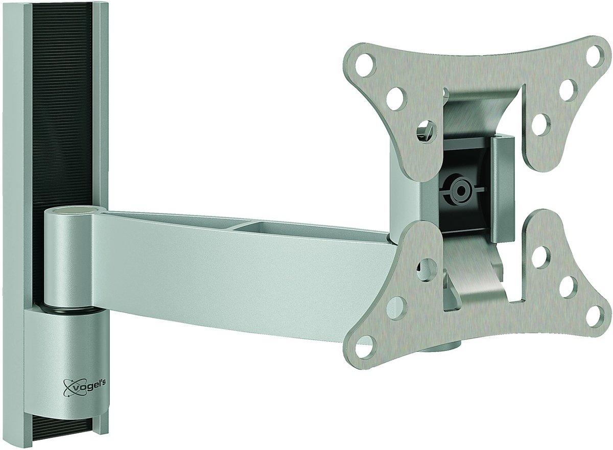 Vogel's WALL 1025 - Kantelbare en draaibare muurbeugel - Geschikt voor tv's van 17 t/m 26 inch - Zilver kopen