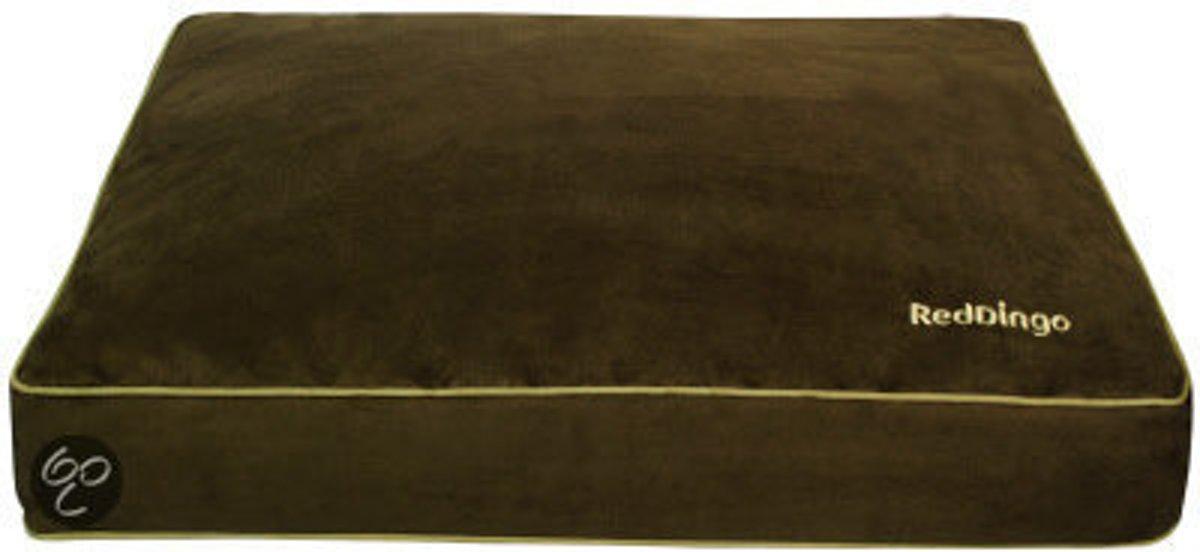 Red Dingo matras L 100 x 75 x 10cm Groen kopen