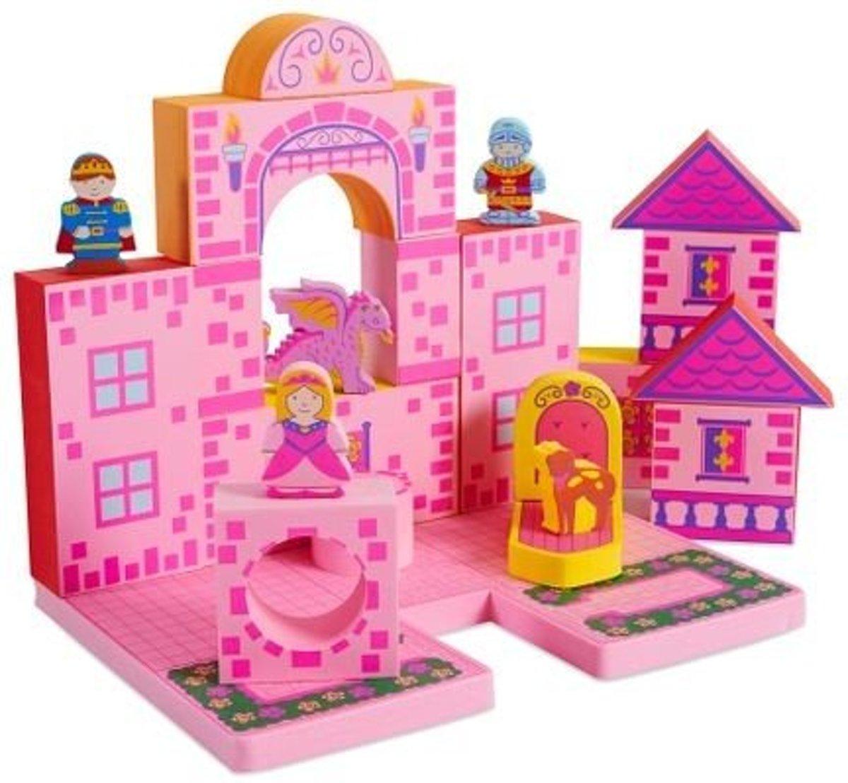 Bath Blocks badspeelgoed Castle Set